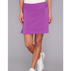 Adidas light purple golf skort